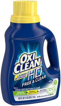 OxiClean® HD™ Free & Clear Laundry Detergent 40 fl. oz. Jug