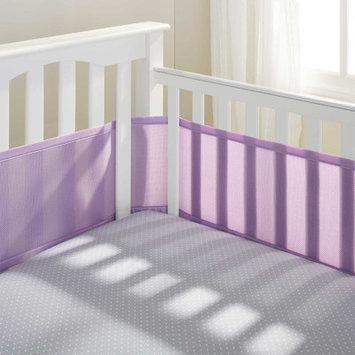 Breathable Baby Mesh Crib Liner Color: Lavender