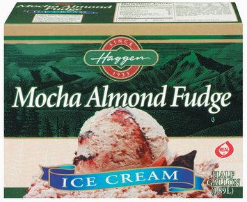 Haggen Mocha Almond Fudge Ice Cream .5 Gal Carton