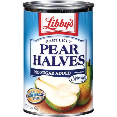 Libby's® Bartlett Pear Halves 14.75 Oz Can