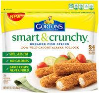 Gorton's® Smart & Crunchy Breaded Fish Sticks 15.7 oz. Bag