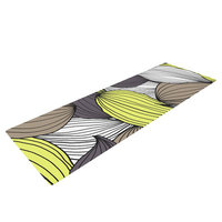 Kess Inhouse Wild Brush by Gabriela Fuente Yoga Mat