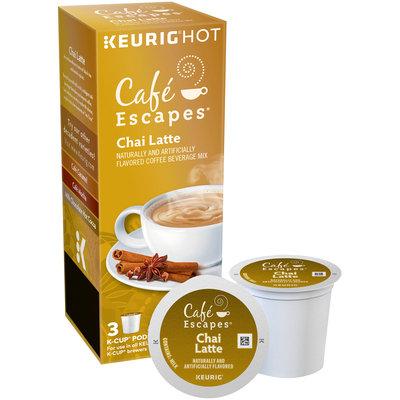 Cafe Escapes® Chai Latte K-Cup® Pods 3 ct Box