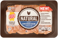 Oscar Mayer Natural Honey Uncured Ham Cold Cuts 8 oz. Tray