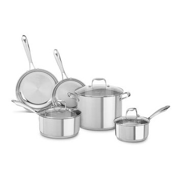 KitchenAid 8-pc. Stainless Steel Cookware Set
