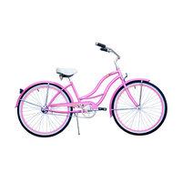 Micargi Industries Micargi Tahiti 26-inch Pink with Pink Rim Beach Cruiser