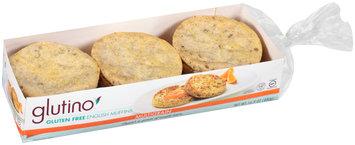 Glutino® Gluten Free Multigrain English Muffins 16.9 oz. Tray