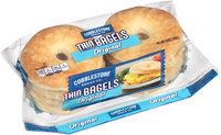 Cobblestone Bread Co™ Original Thin Sliced Bagels 13 oz. Bag