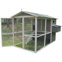 Innovation Pet Coops and Feathers Extreme Walk-In Hen Coop