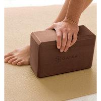 Gaiam Solid Yoga Block - Brown