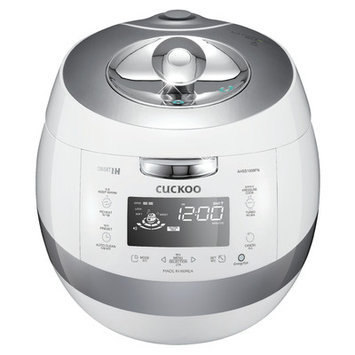 Cuckoo Electronics Cuckoo IH Stainless Eco 2.0 Pressure Rice Cooker CRP-AHSS1009FN (10 Cups) 110v