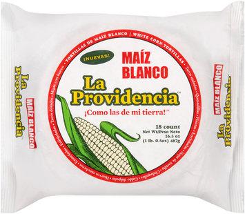 La Providencia™ White Corn Tortillas 18 ct Pack