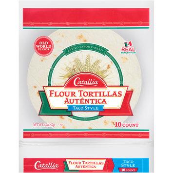 Catallia® Taco Style Flour Tortillas 9 oz. Bag