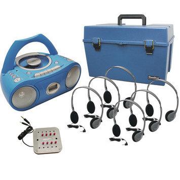 Hamilton Electronics HMC - CD385 - HA2 Listening Center- 6 Station- CD Boom Box
