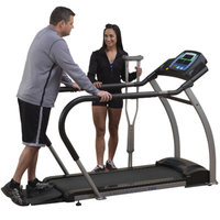 Endurance by Body Solid T50 Walking Treadmill Grey and Black 51 x 17.75