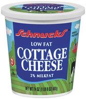 Schnucks Low Fat 2% Milkfat Cottage Cheese 24 Oz Tub