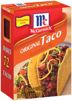 McCormick Original Taco 1.25 Oz Pouches Seasoning Mix 6 Ct Box