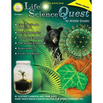Carson-dellosa Publishing Life Science Quest For Middle
