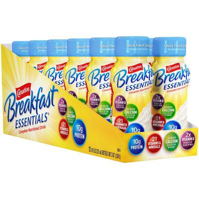Carnation Breakfast Essentials® Classic French Vanilla & Rich Milk Chocolate Complete Nutrition Drink 12-8 fl. oz. Bottles