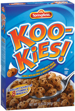 Springfield Koo-Kies Cereal 12.25 Oz Box