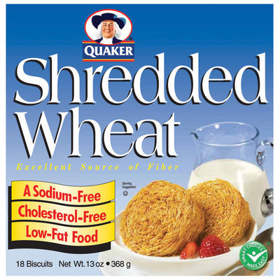 Quaker® Shredded Wheat Cereal