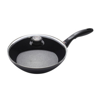 Swiss Diamond EDGE Stir Frying Pan with Lid, 2.25 H x 9.45 W x 9.45 D