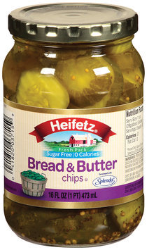 Heifetz® Bread & Butter Chips 16 oz Jar