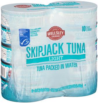wellsley farms™ packed in water light skipjack tuna 1