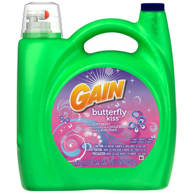 Gain with FreshLock Simply Fresh Liquid Detergent 150 fl. oz. Bottle