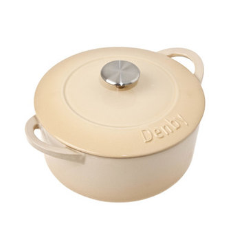 Denby Cook and Dine Barley Round Casserole Size: 4