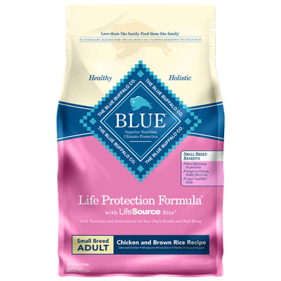 THE BLUE BUFFALO CO. BLUE™ Life Protection Formula® Chicken and Brown Rice Recipe For Small Breed Adult Dogs