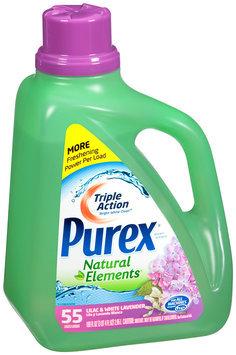 Purex® Natural Elements® Laundry Detergent Lilac & White Lavender 100 fl oz.