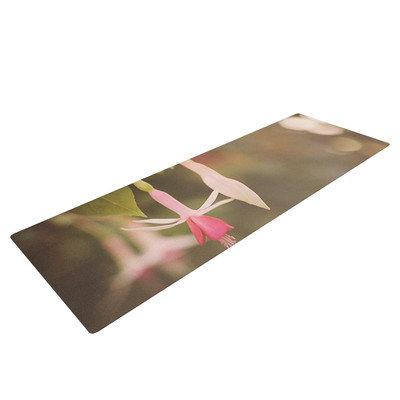 Kess Inhouse Fuchsia by Angie Turner Flower Yoga Mat