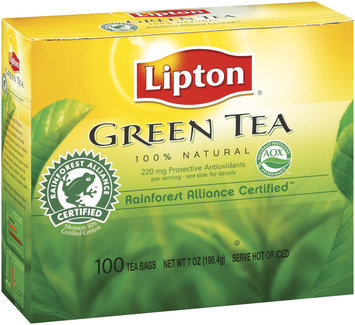 Lipton® 100% Natural Pure Green Tea Bags