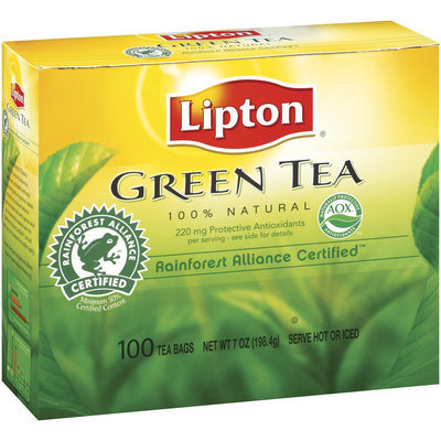 Lipton 100% Natural Pure Green Tea