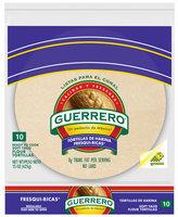 Guerrero® Fresqui-Ricas® Soft Taco Flour Tortillas 10 ct 15 oz.