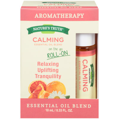 Nature's Truth® Aromatherapy Calming On The Go Roll-On Essential Oil Blend 0.33 fl. oz. Box