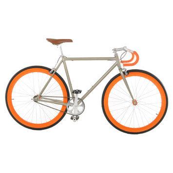 Vilano Attack Fixed Gear Bike Track Bike Champagne / Orange Small (50cm)