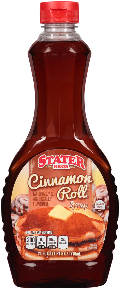 Stater bros® Cinnamon Roll Syrup