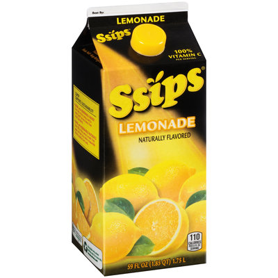 Ssips® Lemonade 59 fl. oz. Carton