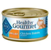THE BLUE BUFFALO CO. BLUE™ Healthy Gourmet® Grilled Chicken Entrée For Adult Cats