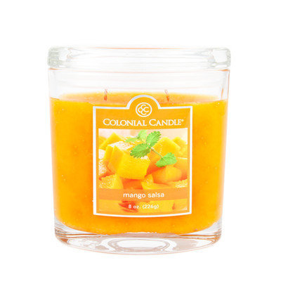 Fragranced in-line Container CC008.2073 8oz. Oval Mango Salsa