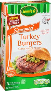 Jennie-O® Seasoned Turkey Burgers,