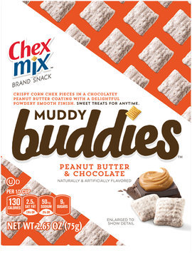 Chex Mix™ Muddy Buddies™ Peanut Butter & Chocolate Snack Mix 2.65 oz. Bag