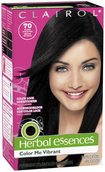 Herbal Essences Color Me Vibrant Hair Color 070 Black Stilettos 1 Kit Box