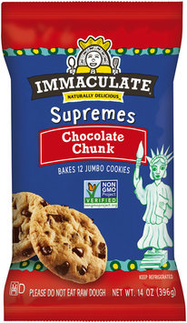 Immaculate® Supremes Chocolate Chunk Cookies 12 ct Pack