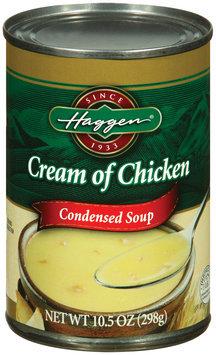 Haggen Cream of Chicken Condensed Soup 10.5 Oz Can