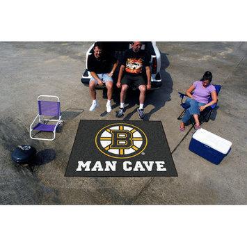 Sls Mats Fan Mats FAN-14396 Boston Bruins NHL Man Cave Tailgater Floor Mat - 60in x 72in
