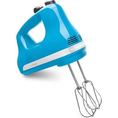 KitchenAid Crystal Blue 5-Speed Ultra Power Hand Mixer