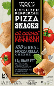 Uddo's Kitchen™ Uncured Pepperoni Pizza Snacks 2-29.6 oz. Bags